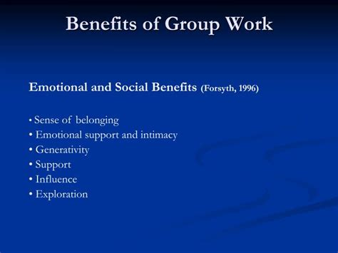 benefits collaborative cohesion environments social ppt powerpoint presentation