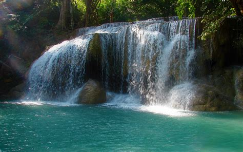 Tropical Waterfall Hd Wallpaper Background Image 2560x1600 Id944469 Wallpaper Abyss