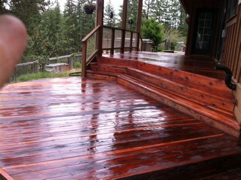 refinish wood decks  spokane professional painters