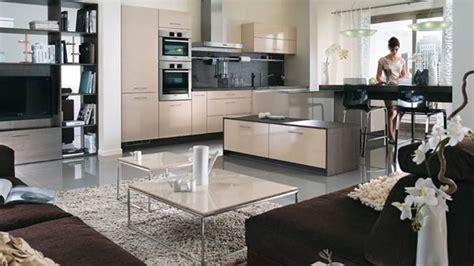 decoration salon avec cuisine ouverte cuisine ouverte