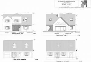plans et permis de construirefacades maison individuelle With exemple plan de maison 0 plans et permis de construire un exemple de permis de