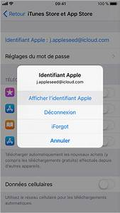 Comment Supprimer Une Application Iphone 7 : oubli de votre identifiant apple assistance apple ~ Medecine-chirurgie-esthetiques.com Avis de Voitures