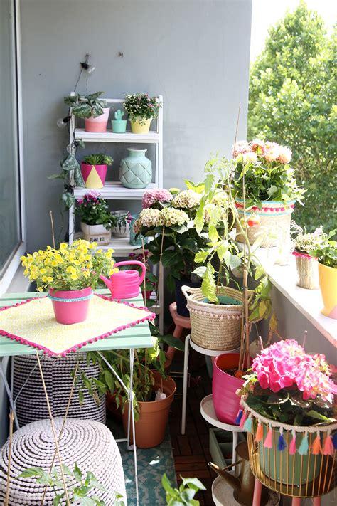 3 Diyideen Für Deinen Bohobalkon & Pflanzenpflegetipps