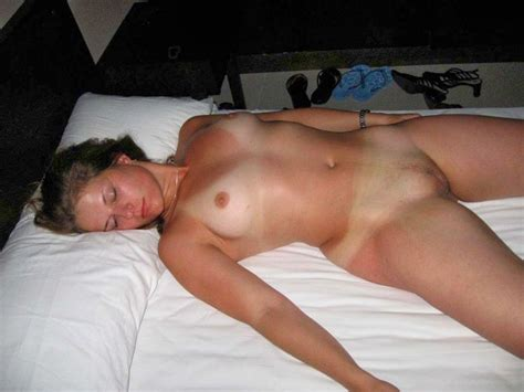wife sleeping naked