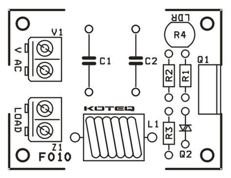 Dark Sensitive Lamp Off Controller Electronics Lab