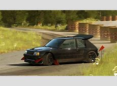 CARBON Group B 4WD Peugeot 205 T16 Evo II