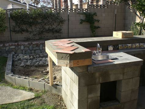 How To Build A Backyard Barbecue!   Home Design, Garden