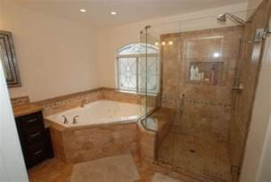 corner tub bathroom ideas bathroom with corner tub and shower wonderful 12 on corner tub shower seat master bathroom