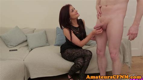 Redhead British Amateur Blowing Dick In Cfnm Porn Videos