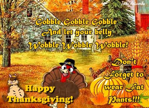 belly wobble  turkey fun ecards greeting