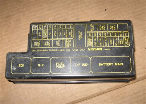 2004 Nissan Pathfinder Fuse Box by 1997 Nissan Pathfinder Fuse Box Location 2019 Ebook Library