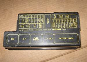 1997 Nissan Pathfinder Fuse Box Location