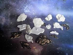 Asteroids BLUE set