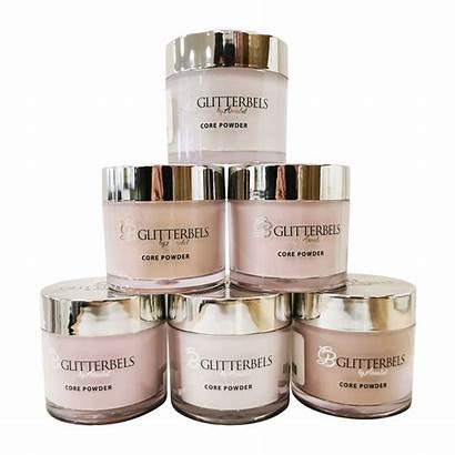 Acrylic Glitterbels Powder Core Powders