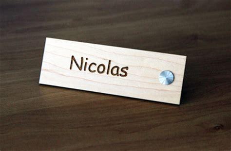 porte nom bureau gravure plaques accueil