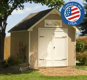 everton 8 x 12 wood storage shed large door for riding