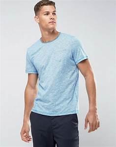 Tom Tailor Tuch : tom tailor t shirt with fine stripe raw hem and pocket asos ~ Yasmunasinghe.com Haus und Dekorationen