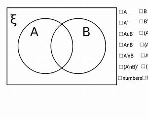 Venn Diagram For Set Theory  U2013 Geogebra