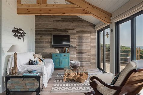 gorgeous beach style living rooms   dash  woodsy