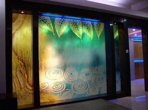 Stained Office Partition Glass Wall Prices,Art Glass