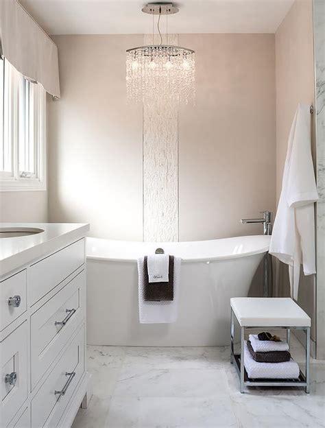chandelier above nightstand design ideas