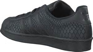 Black Adidas Superstar Sneaker