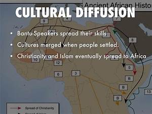 African Climate... Cultural Diffusion