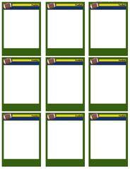 blank football field template    clipartmag