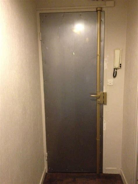 blindage porte d entree par tole acier et serrure 3 points photo de z divers soci 233 t 233 adm