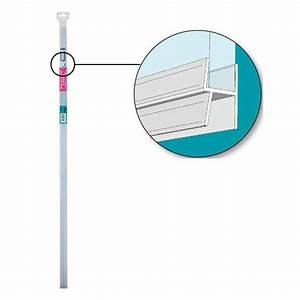 joint bas de porte de douche double levres longueur 1 m With joint bas de porte de douche