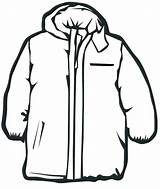 Winter Coloring Clothes Pages Coat Jacket Clipart Line Draw Clip Clothing Print Snow Coats Cliparts Drawing Thick Clipartmag Colour Preschool sketch template