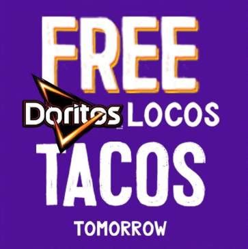 If beethoven isn't your jam, then panera might not be the place for you. Taco Bell: FREE Doritos Locos Taco with a drive-thru purchase