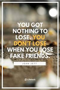 25 Fake Friends... Phony Friend Quotes