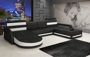 Couch U Form Xxl : leder sofa eck sofa couch xxl wohnlandschaft garnitur ser designer ledergarnitur ebay ~ Bigdaddyawards.com Haus und Dekorationen