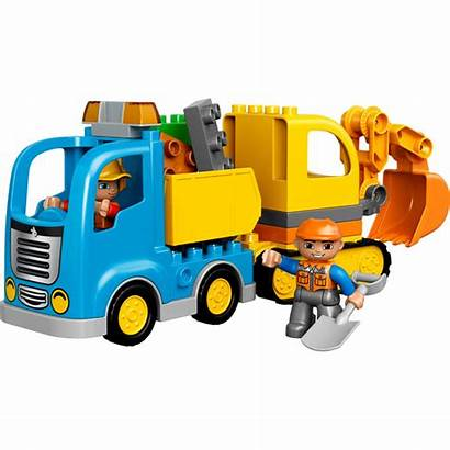 Lego Excavator Truck Tracked Duplo Construction Sets