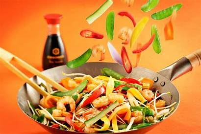Chinese Cuisine Asian Mexican Sauce Pan Frying