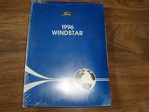 1996 Ford Windstar Owners Guide Glove Box Manual Nwio