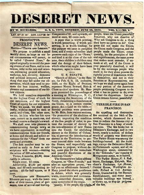 calendario mormon editorial deseret news
