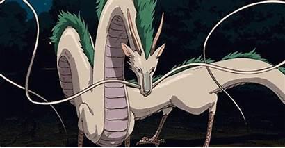Spirited Away Dragon Haku River Characters Gifs