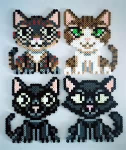 Perler Bead Cats
