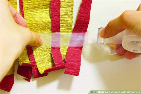 Decorating Ideas With Streamers 5 ways to decorate with streamers wikihow