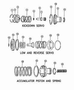 2002 Jeep Grand Cherokee Spring  Transmission Accumulator