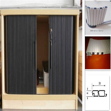 sell pvc roller shutter  cabinet doorid  guangzhou shuotai hardware plastics