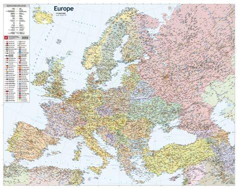 Maps - Wall maps - Eiropas politiskā karte