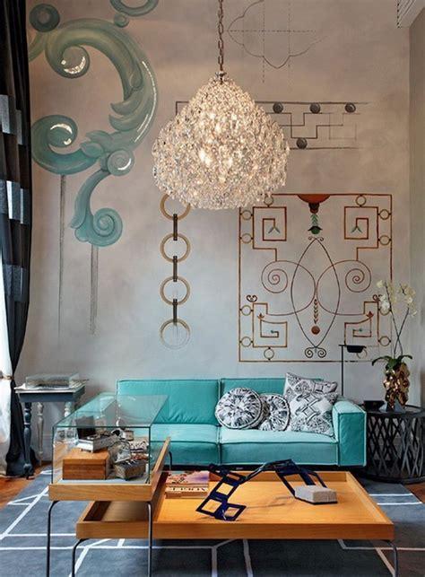 Wohnzimmer Deko Türkis by Die Besten 50 Wohnzimmer Ideen Und Designs