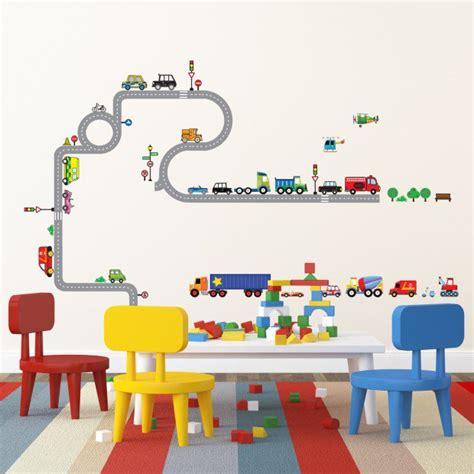 sticker chambre gar輟n stickers chambre bébé et enfant idées pour les garçons