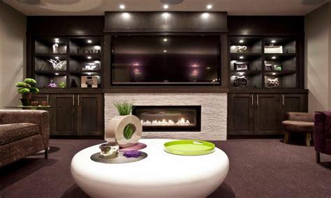 shelves  laundry room fireplace  tv  designs