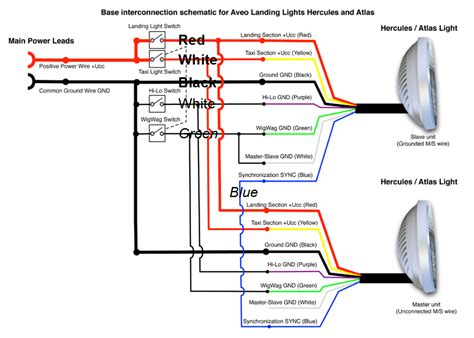 electrical wiring landing light wing wiring innovative