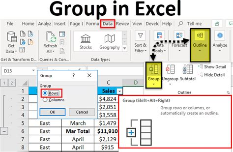 excel create table contents examples