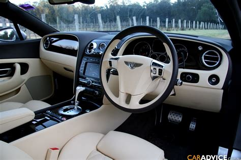 Bentley Continental Gt Speed White Interior Cabin